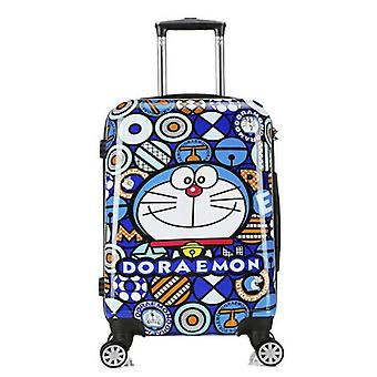 Hard Shell Doraemon Trolley / Travel Bag Kids Rolling Luggage Suitcase