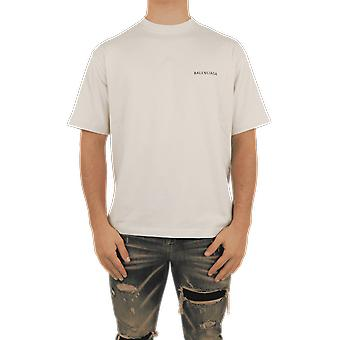 Balenciaga Medium Fit T-Shirt Beige 612966TIVG59055 Top
