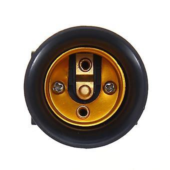 Brandwerende Ac100-240v E27 Lamp adapter lamphouder stopcontact met Eu-stekker