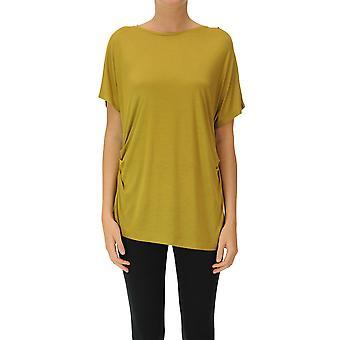 Dries Van Noten Ezgl093201 Women's Yellow Modal T-shirt