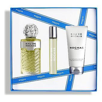 Conjunto de Perfumes para Mujer's Eau de Rochas EDT (3 uds)