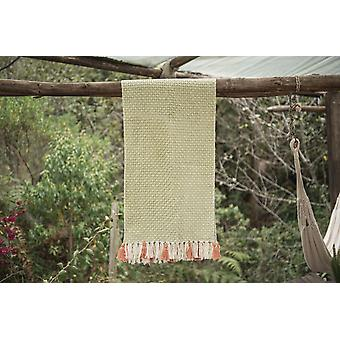 Diamond Feijoa Green Table Runner (grande)