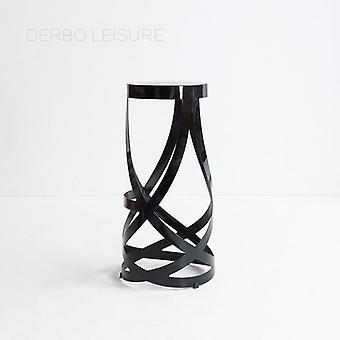 Klassische moderne Design Mode Loft Metall Stahl Küche Zimmer Counter Hocker