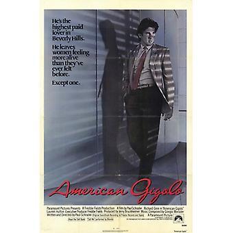 American Gigolo elokuvajuliste (11 x 17)