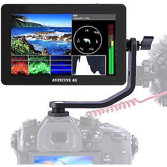 Andycine a6 plus 5.5'Äô'Äô ips touchscreen-skærm, 4k hdmi 1920x1080p 24hz,3d lut 8v dc kamera vide vide