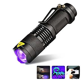 Ultraviolet Led Torch Sterilizer Zoomable Pet - Uv Lamp Flashlight