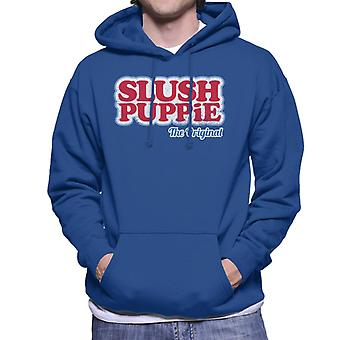 Slush Puppie Het originele logo Men's Hooded Sweatshirt