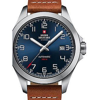 Mens Watch Swiss Military Door Chrono SMA34077.03, Automaat, 42mm, 10ATM