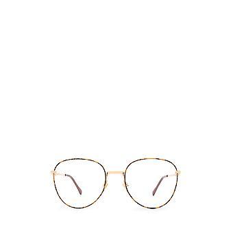 Gucci GG0880O guld / havana kvindelige briller