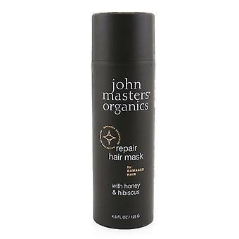 John Masters Organics Repair Hair Mask For Damaged Hair with Honey & Hibiscus 125g/4.5oz