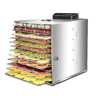 Electric 6 Layers Fruit Dryer Food Vegetable Meat Dehydrator Air Drying Machine