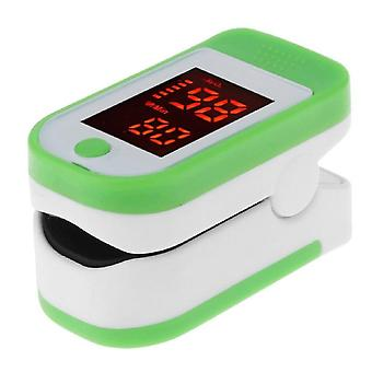 Durable Plastic Adult Finger Clip Blood Oxygen Saturation Tester, Pulse Meter