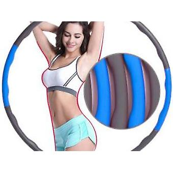 Foam Hula Hoop, Waist Exercise, Thin Belly, Children, Adults, Detachable Hula Hoop Fitness Ring