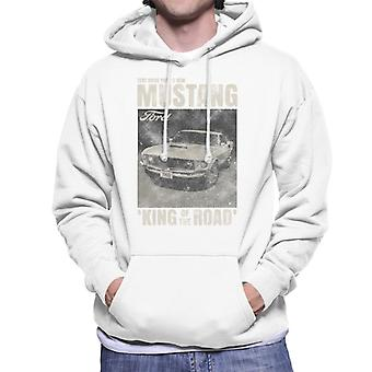 Ford Mustang Test Drive Fords New King Of The Road Men's Hooded Sweatshirt