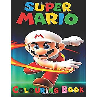 Super Mario Colouring Book - This A4 45 Page Colouring Book for Kids H