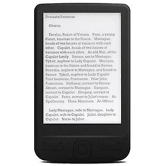 4.3 Inch e-ink ebook reader 800x600 ereader electronic paper book with front light pu cover(8g)