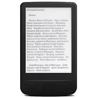 4.3 Pouce e-ink ebook reader 800x600 ereader livre papier électronique avec couvercle pu lumière avant (8g)