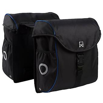 Willex Bicycle Bags 38 L Black and Blue 16102
