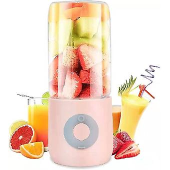 Mini Blender Bärbar Juicer 400ML Grön Smoothie Makers Fruktblandare Maskin