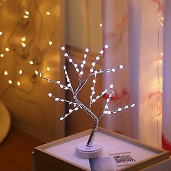 Boom lamp koperdraad string flexibele LED-netaansluiting microdraad koperen fairy string licht