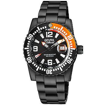 Gevril Canal Street Män & s Schweiziska Automatiska IP Armband Klocka