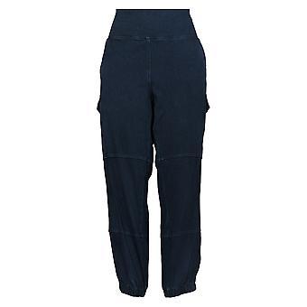 Vrouwen met Control Women's Plus Pants Tummy Control Jogger Blue A375901