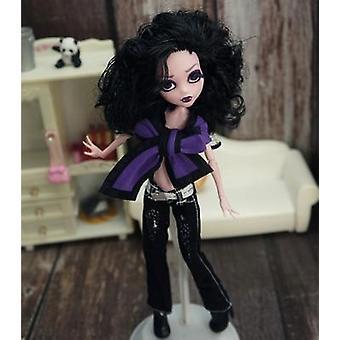 Monstering High Doll Dressing Soft Casual Käytä käsintehtyjä vaatteita.