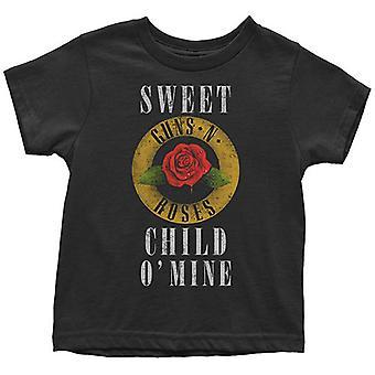 Guns N Roses Kisgyermek póló Sweet Child O Mine Logo Életkor 12 hónap 5 év