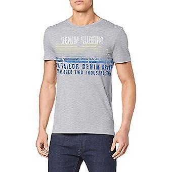 TOM SKRÄDDARE Denim T-Shirt, Grå (Ljus stengrå Mel 15398), Stora mäns