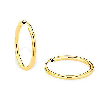 Amor, øredobber til kvinners bøyle, i gull 375