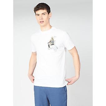 Ben Sherman Doodle Mod T-Shirt - White