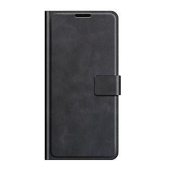 Pu leather magsafe case for samsung a12 black pc110