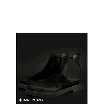 SB 3012 - Shoes - Ankle Boots - 400D-CAMOSCIO-NERO - Men - Schwartz - EU 39
