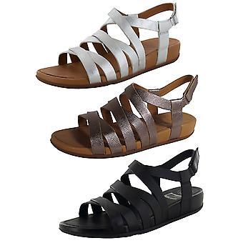 FitFlop Mujer Lumy Cuero Strappy Sandalia Zapatos