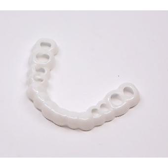 2Pcs øvre tænder perfekt smil finer komfort pasform, flex protese pasta seler az9573