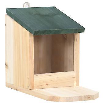 vidaXL Eekhoorn Feedhouses 4 Stuks Fir Wood