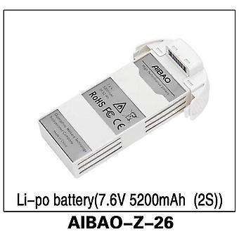 (7.6V 5200mAh Li-po batteri) 2S Aibao-z-26