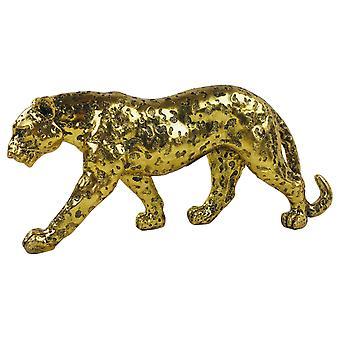 Kullan kimallus vaikutus Leopard 40cm