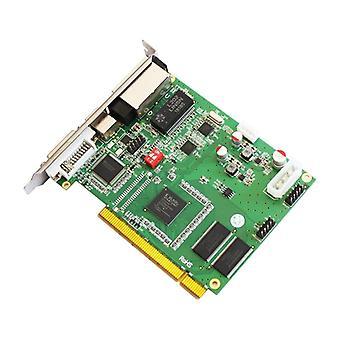نظام التحكم في العرض LED، إرسال عمل البطاقة باستخدام معالج الفيديو