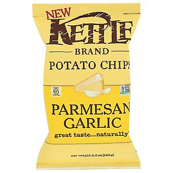 Kettle Foods Chips Kettle Garlic Parm, Case of 12 X 8.5 Oz