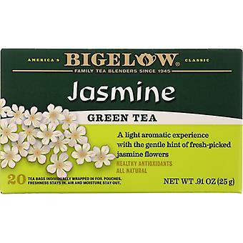 Bigelow Tea Grn Jasmine 20Bg, Case of 6 X 0.91 Oz