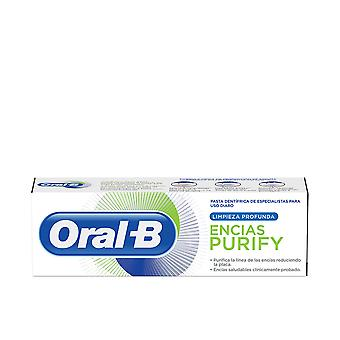 Oral-b Encias Purify Limpieza Profunda Pasta Dentífrica 75 Ml Unisex