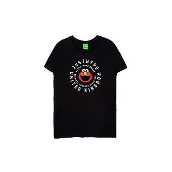 Hype Childrens /Kids Cog Elmo Sesamstraat T-Shirt