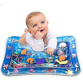 Baby Tummy-time Water Cushion,baby Inflatable Sensory Play Mat