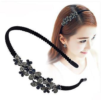 Headband Hair Ornaments Elegant Hair Hoop Hairbands Party Stylish Bezel Head Band