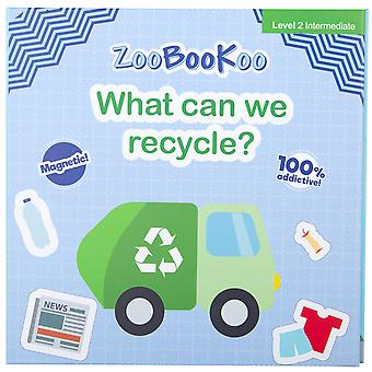 ZooBooKoo Educational Magnet Book What Can We Recycle? Early Learning Magnetic