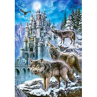 Castorland Wolves and Castle Jigsaw Puzzle (1500 Teile)