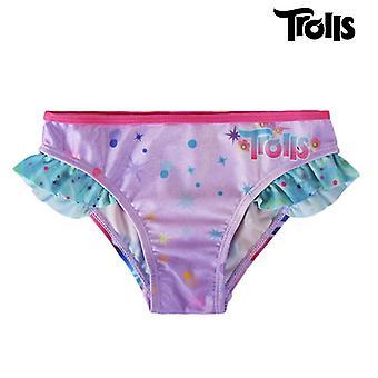 Trolls Fondo de bikini para niñas