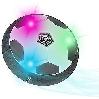 Airpower Fussball Spielzeug mit LED, Hover Ball Spielzeug Kinder, Wiederaufladbar Hover Soccer Ball
