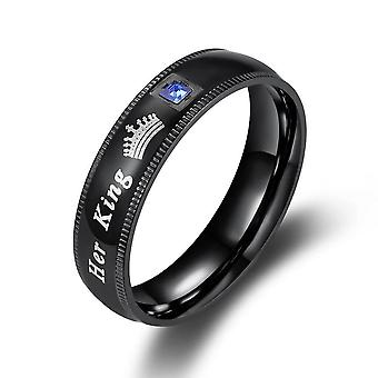 Couple Rings Promise Rings For Couples Her King His Queen Rings